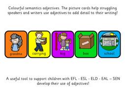 Colourful Semantics: Adjectives!