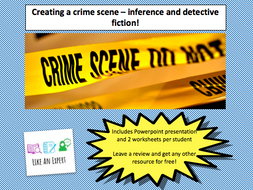 Using Inference To Create A Detective Crime Scene Full Lesson By