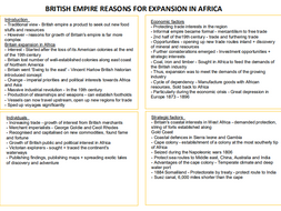 1J BRITISH EMPIRE - BRITISH EXPANSION IN AFRICA