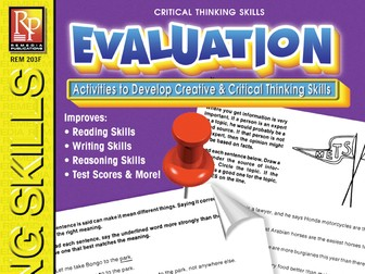 Evaluation: Critical Thinking Skills