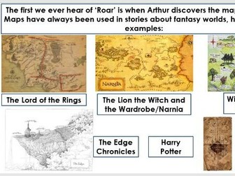 Year 5/6: Whole Class Reading -Land of Roar 24-25 - own world/map lesson