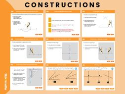 Constructions, Year 8, key stage 3 (US 7th grade)