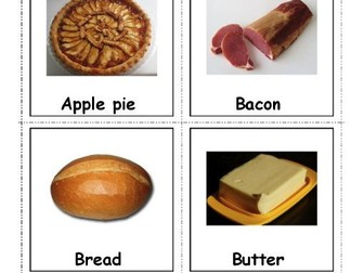 Food Vocabulary Photo Cards