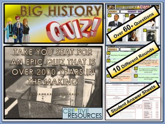 History end of year Quiz