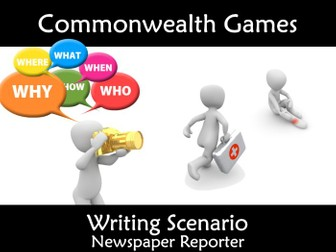 Commonwealth Games 2018 Newspaper Writing Scandal Scenario