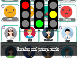 SEN Emotion Cards to cut out