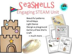 Sea Shells, Project Based Learning - STEAM, Biomimicry, KS1, NGSS