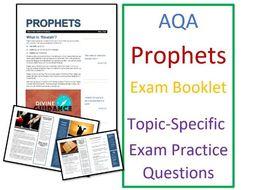 AQA Islam Beliefs: Risalah and Prophets Exam Booklet