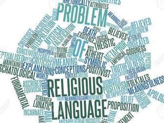 Religious Language (WJEC A Level Religious Studies)