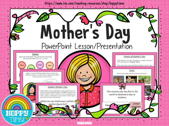 Mother's Day Assembly