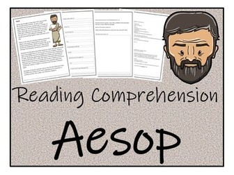 UKS2 History - Aesop Reading Comprehension Activity