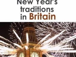 New Year traditions in GB