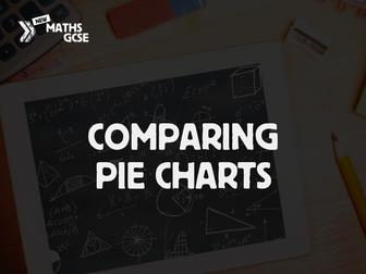 Comparing Pie Charts - Complete Lesson