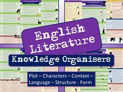 English Literature Knowledge Organisers