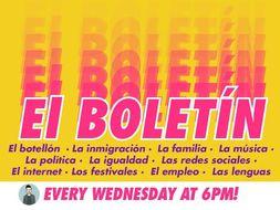 El Boletín (Weekly A Level Spanish news and exam practice)