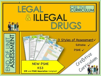 Legal and Illegal Drugs Assessment