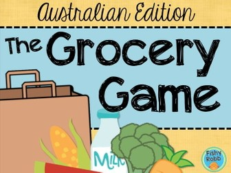The Grocery Game - Australian  Money Edition