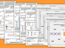 Year 3/4 Mixed Age Summer Block 1 Step 3 Maths Lesson Pack