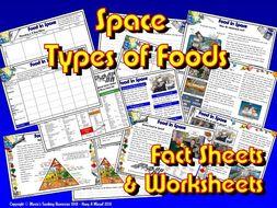 Food in Space / KS1&2 / Healthy Food