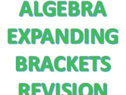 Revision Mat - Expanding Brackets