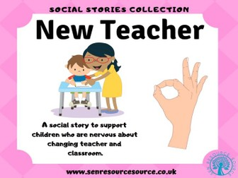 New Year New Teacher Social Story