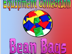 Equipment Collection Bean Bags