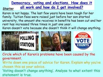 Democracy and Voting: British Values