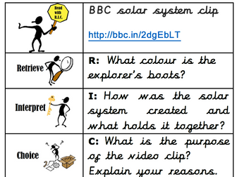 Read with RIC guided reading starter activity