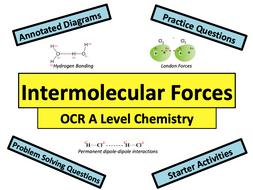 Intermolecular Forces (OCR Chemistry)