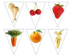 Food Technology word bank and bunting
