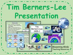 Tim Berners-Lee (inventor) - History Presentation