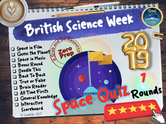 End of Year Space Quiz