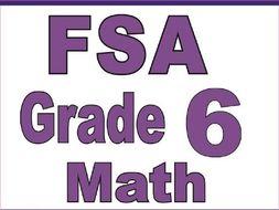 FSA Grade 6 Math Prep 2020: A Comprehensive Review and ...