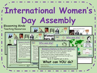 International Women's Day Assembly - Women's History Month