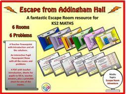 Escape Room - Addingham Hall - Maths