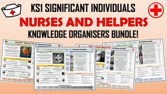 KS1 Significant Individuals - Nurses and Helpers - Knowledge Organisers Bundle!