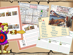 'Escape from Pompeii' English planning KS2