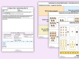 EYFS Maths Subtracting within 20 Learning Activity