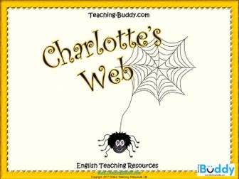 Charlotte's Web (Unit of work with 151 slide PowerPoint and 15 worksheets)