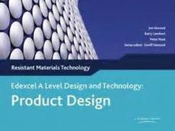 Edexcel A Level Product Design Tracker documents