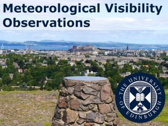 Meteorological Visibility Observations: A User's Guide