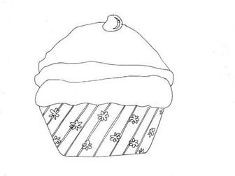 Cupcake (Ideal for Wet Breaktime Activities!)