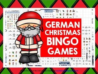 GERMAN CHRISTMAS BINGO
