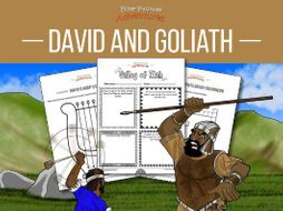 David & Goliath Bible Activity Book