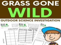 Grass Gone Wild - Outdoor Science Investigation - Data Handling