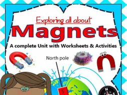 """Magnet"" Unit with Worksheets/Activities"