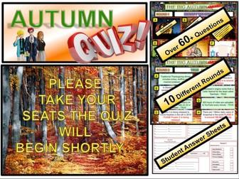 Autumn Quiz 2019