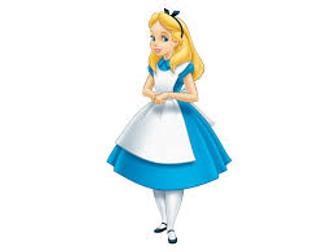 Alice in Wonderland story opening