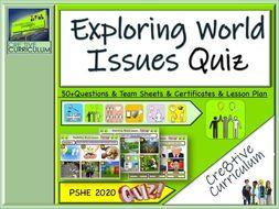 World Issues & Environment Quiz