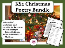Christmas Poetry Lesson Bundle